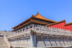 The Hall of Supreme Harmony side view Stock Photography