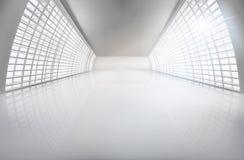 Hall, szeroko otwarty przestrzeń również zwrócić corel ilustracji wektora ilustracja wektor