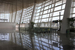 The hall of t4 terminal, amoy city, china Royalty Free Stock Images