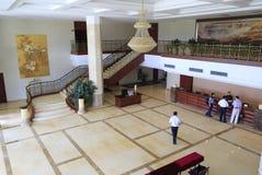 Hall of tianzhu hotel Stock Photos