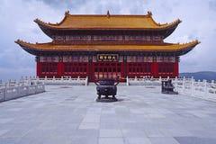 Hall tibétain de bouddhisme Image libre de droits