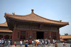 Hall of Union and Peace in the Forbidden City, Beijing, China Stock Photo
