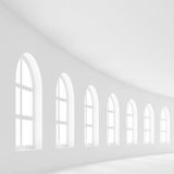Hall vide blanc illustration libre de droits