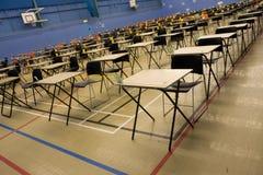 Hall vide d'examen Photos libres de droits
