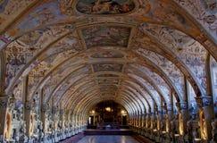 Hall von Antiquitäten Stockfotos