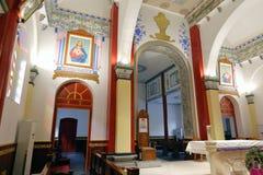 Hall von wuxingjie Kirche, luftgetrockneter Ziegelstein rgb Stockbild