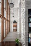 Hall w loft stylu Zdjęcia Stock
