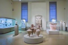 Hall w Pushkin stanu muzeum sztuki piękna w Moskwa, Rosja Obraz Stock
