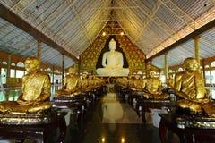 Hall of Wat Pa Huay Lard,Loei,Thailand Royalty Free Stock Photo