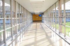 Hall way Stock Image
