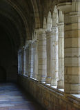 Hall way at church, Lissabon Portugal Royalty Free Stock Images