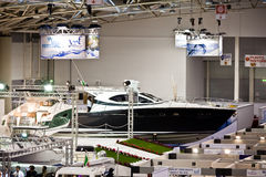 The Hall Of Yachts - Big Blue Sea Expo, Rome, 2011 Stock Image