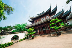 Hall in Yu Garden Royalty Free Stock Image