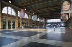 Hall of the Zurich Main Railway Station Royalty Free Stock Photography