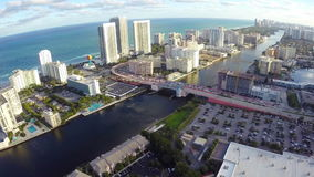 Hallandale Beach Florida Royalty Free Stock Images
