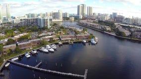 Hallandale Beach Florida stock footage