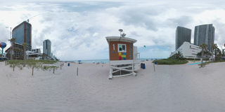 Hallandale Beach 360 panorama Royalty Free Stock Photo