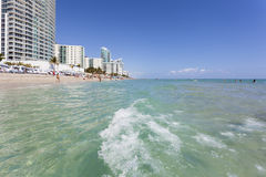 Hallandale-Strand, Florida stockfoto