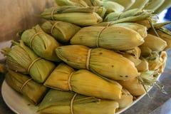 Hallaquitas Typical Venezuelan Food. Hallaquitas are a Venezuelan Typical Food Made out of Corn flour royalty free stock photos