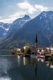 Hallattat. View beautiful  in Hallsttat,Austria Royalty Free Stock Image