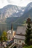 Hallattat. View beautiful  in Hallsttat,Austria Stock Image
