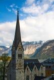Hallattat. View beautiful  in Hallsttat,Austria Stock Photos