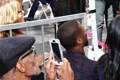 Halle Berry e Kevin Hart Imagem de Stock