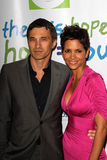 Halle Berry,Olivier Martinez Royalty Free Stock Photo