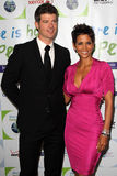 Halle Berry,Robin Thicke Stock Image