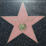 Halle Berry Star on Hollywood Walk of Fame in Hollywood, California. USA Royalty Free Stock Photos