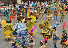 Halle Carnival fotografia de stock