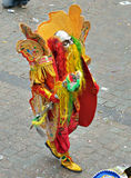 Halle Carnival, Belgium, bolivian participant Royalty Free Stock Images