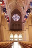 Halle einer Kathedrale Stockfoto