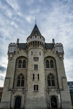Halle Gate in Brussels on a cloudy day, Belgium Royalty Free Stock Photos