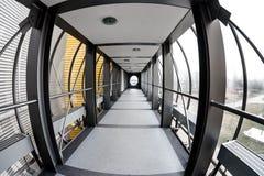 Halle mit hellem Licht Stockbilder