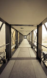 Halle mit hellem Licht Lizenzfreie Stockfotografie