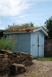 Halle mit lebendem Dach Lizenzfreie Stockbilder
