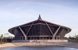Halle Prinzen Mahidol in Mahidol-Universität Lizenzfreie Stockbilder