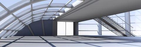Hallen-Architektur stock abbildung