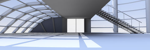 Hallen-Architektur Lizenzfreie Stockfotografie