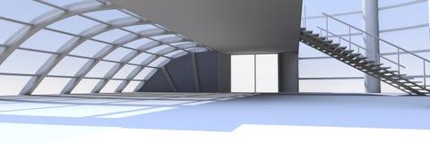Hallen-Architektur Lizenzfreie Stockbilder