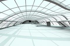 Hallen-Architektur lizenzfreie abbildung