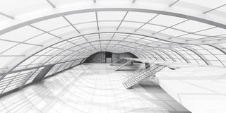 Hallen-Architektur Lizenzfreies Stockfoto