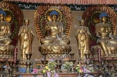 Hallen av den buddistiska Treenighet Arkivfoton