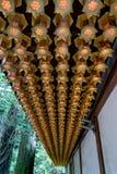 Hallen av lampor Torodo Hall Koya San Japan Arkivbild