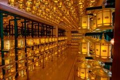 Hallen av lampor Torodo Hall Koya San Japan Royaltyfri Fotografi