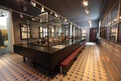 Hallen des Arsenyev-Museums stockfotos