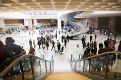 Hallen i Louvre - Paris Royaltyfria Foton
