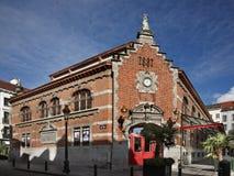 Halles Saint-Gery in Brussels. Belgium Stock Image