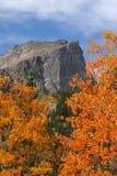 hallet szczyt jesieni Obrazy Stock